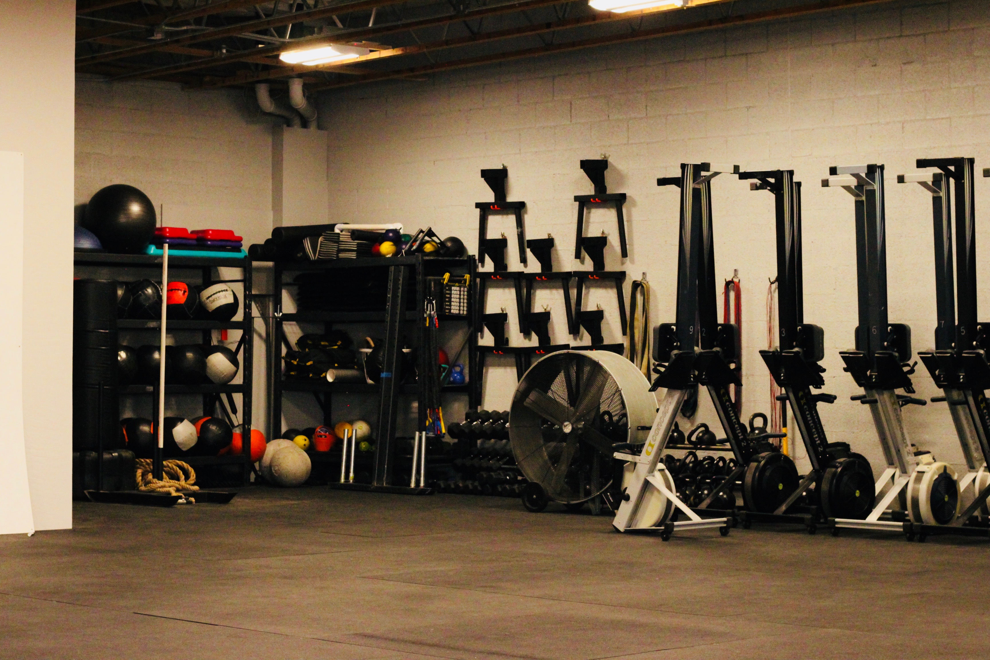 The Cell Gym-equipment